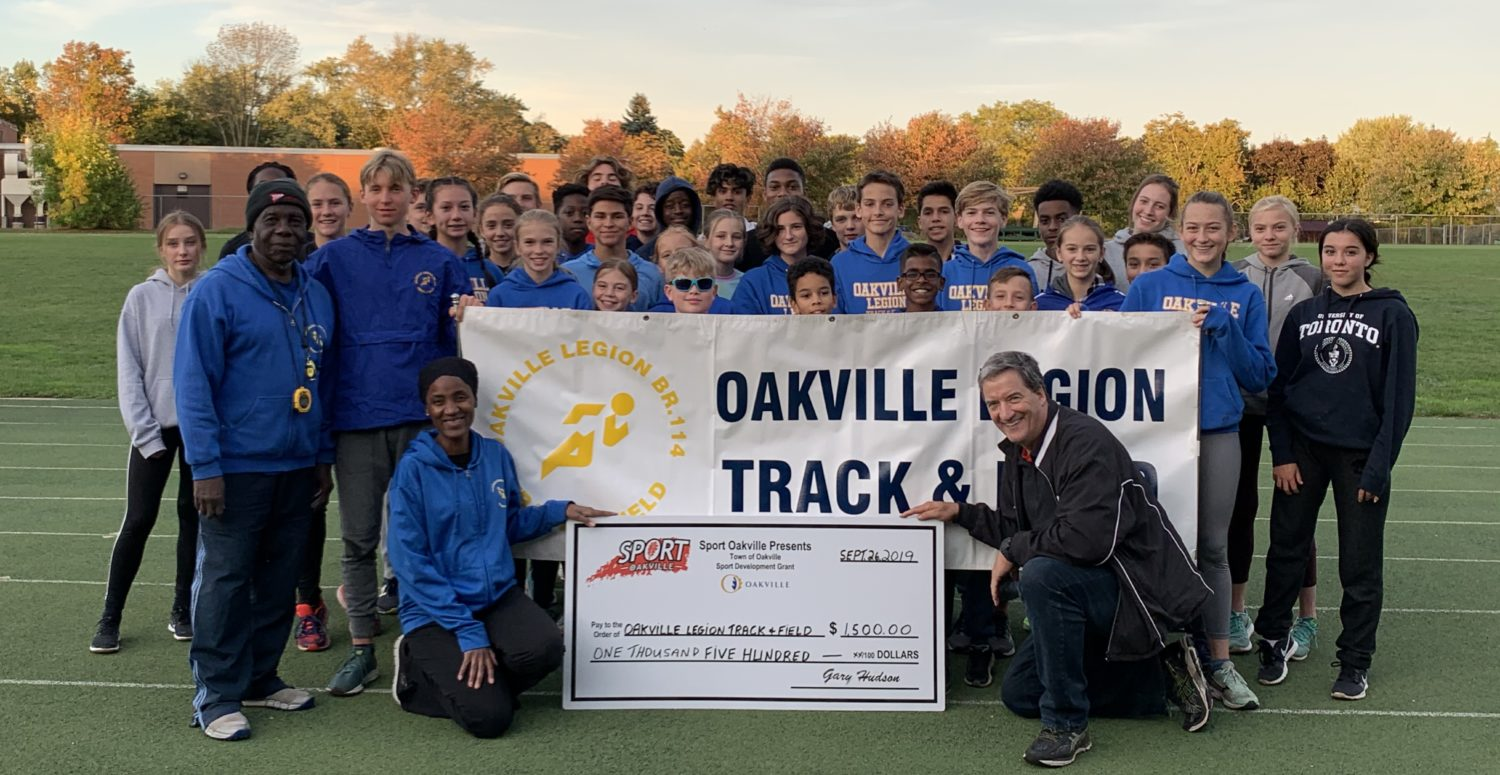 Welcome to the Oakville Legion Track Club